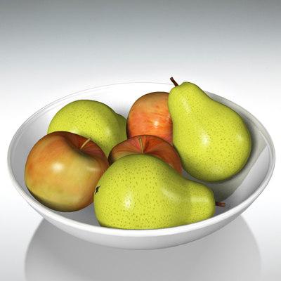 pear apple fruits max
