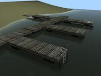 boat dock 3ds