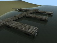 Boat Dock   GAME READY 360* View