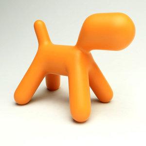 3d model puppy chair design