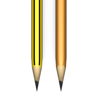 2 Black Lead Pencils