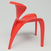 calla chair design obj