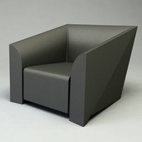 3d model of mb1 chair design