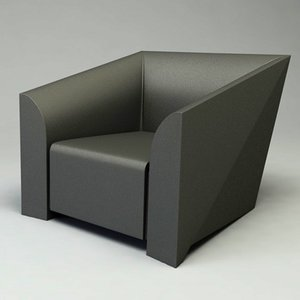 3d model of mb1 chair design
