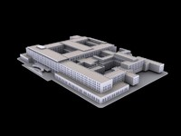 3d model of u s state department