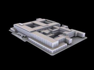 3d model of u s state department