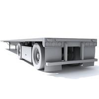 maya semi truck trailer