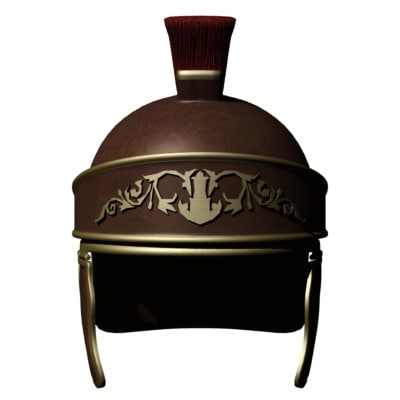 maya roman general helmet