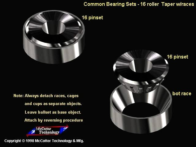 3ds max machine bearing pin
