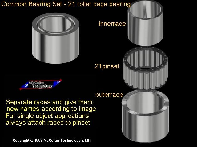 machine bearing pin 3ds