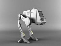 3d model at-pt walker