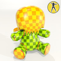 babyqee toyer angel paintable 3d max