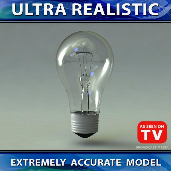 max 3 light bulbs