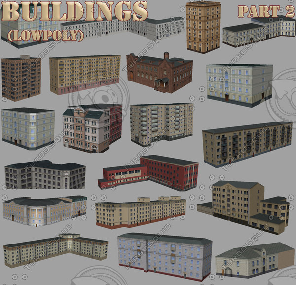 3ds max buildings part2