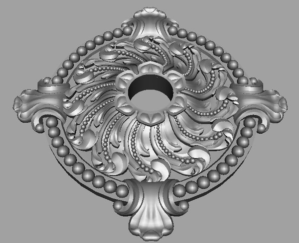 3d model decorative