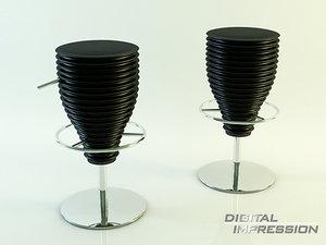 place chair 3d 3ds