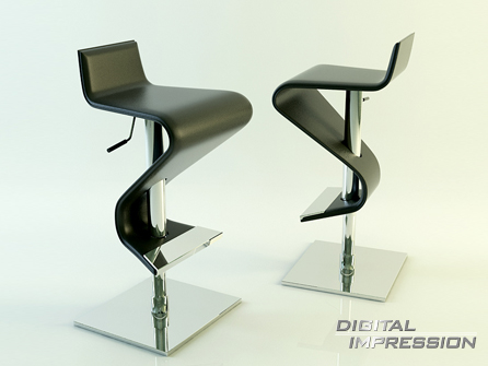3dsmax place chair