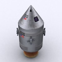 apollo capsule 3d model