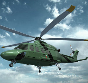 helicopter aw139 3ds