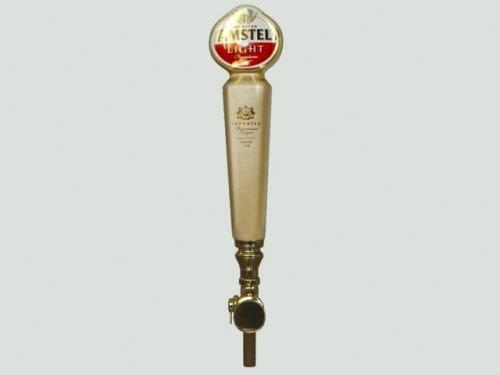 3d beer tap - amstel