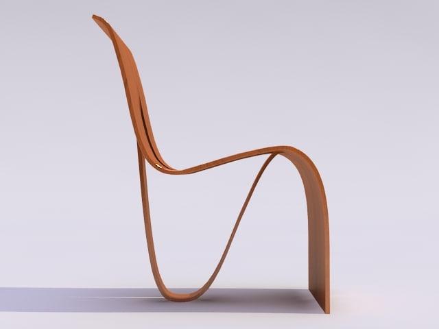 chair materials 3d 3ds