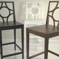 Circle Cutout Barstool