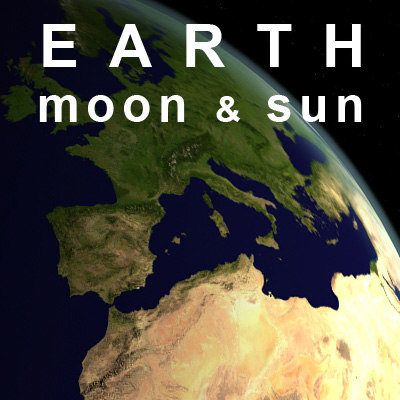 max earth moon sun