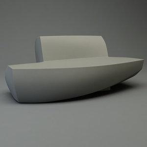3dsmax frank gehry sofa