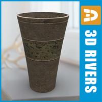3dsmax planter flowerpot