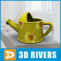 3d planter flowerpot model