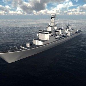 3ds max karel doorman class frigates