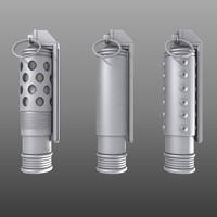 grenade weapon bomb 3d model