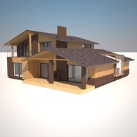 3d model project house