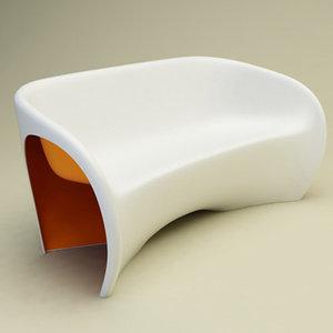 3d model mt2 sofa