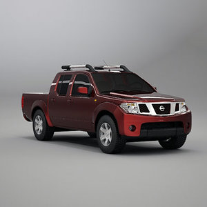 3d model pickup truck suv