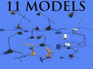 3ds desk lamps