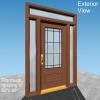 entry door 3d max