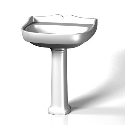 max classic bathroom sink