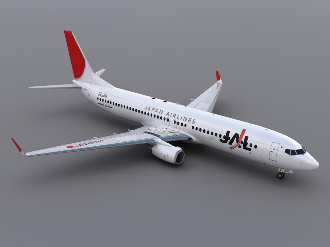 max aircraft jal