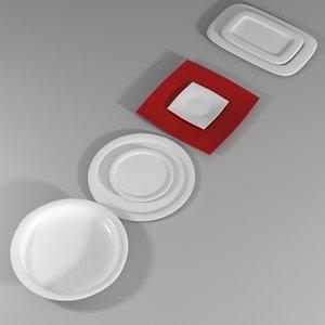 plates super 3d model