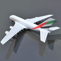 Emirates Airlines Model Airbus A380 UAE