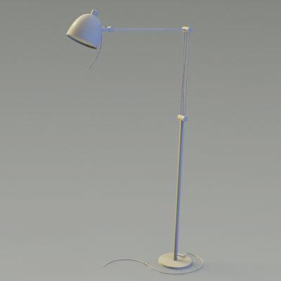 ikea lamp 3d obj