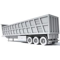 dump trailer 3d 3ds