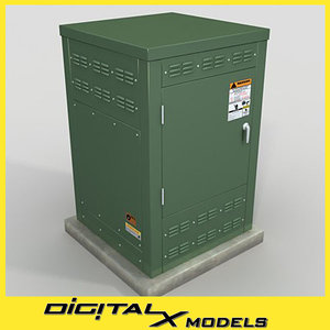 3d electrical box 1