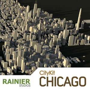 citykit chicago city 3d 3ds