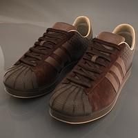 3d model sports shoes