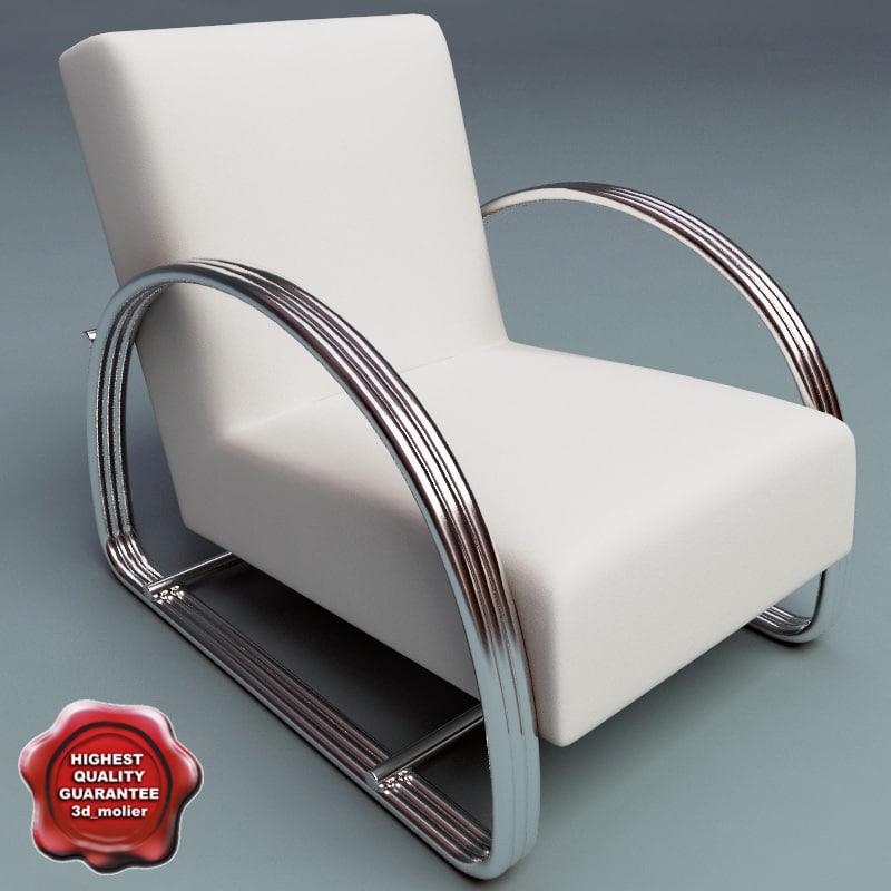 3dsmax armchair v1