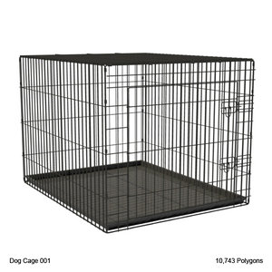 3ds max animal cage