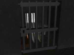 free jail cell 3d model