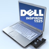 max notebook dell inspiron 1525